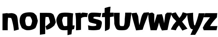 Baar  Antropos Display Font LOWERCASE