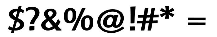 Baar Metanoia Bold Font OTHER CHARS