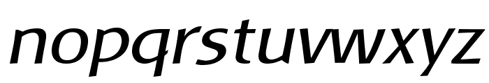 Baar Metanoia Italic Font LOWERCASE
