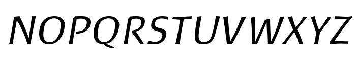 Baar Philos Italic Font UPPERCASE