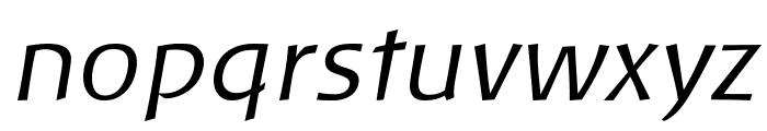 Baar Philos Italic Font LOWERCASE