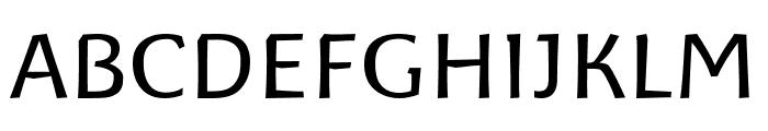 Baar Philos Font UPPERCASE