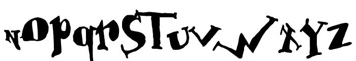 BabOonjaZzbaSsoOn Font UPPERCASE
