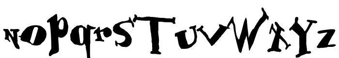 BabOonjaZzbaSsoOn Font LOWERCASE