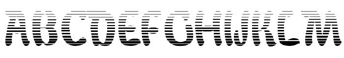 BabaluGradient Font UPPERCASE