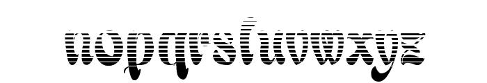 BabaluGradient Font LOWERCASE
