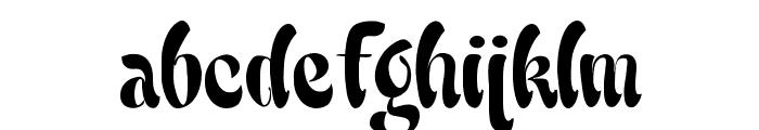 Babalu Font LOWERCASE