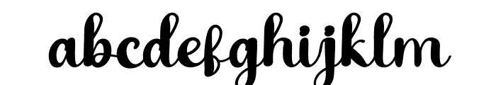 Babang Font LOWERCASE