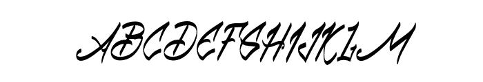 Babball Personal Use Regular Font UPPERCASE