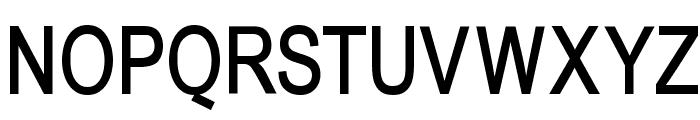 BabelSans-Bold Font UPPERCASE