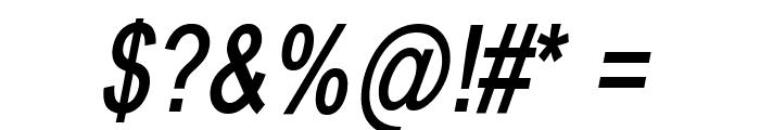BabelSans-BoldOblique Font OTHER CHARS