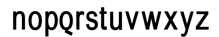 BabelSans-Bold Font LOWERCASE