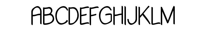Babiole Extralight Font UPPERCASE