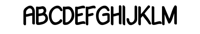 Babiole Font UPPERCASE