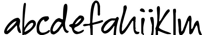 Baby Boston Font LOWERCASE