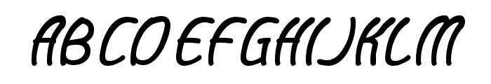 Baby Cuttie Font UPPERCASE