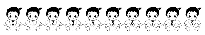 Baby Font Font OTHER CHARS