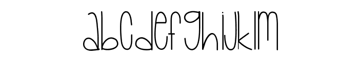 Baby Lexi Font UPPERCASE