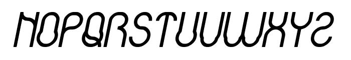 Baby Superhero Bold Italic Font UPPERCASE