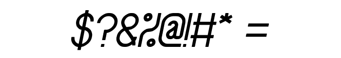 Baby Superhero Italic Font OTHER CHARS
