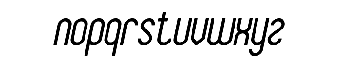 Baby Superhero Italic Font LOWERCASE