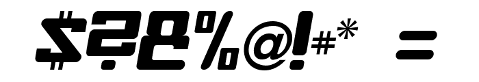 Baby Universe Italic Font OTHER CHARS