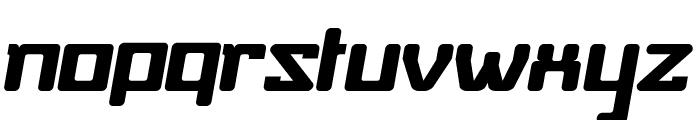 Baby Universe Italic Font LOWERCASE
