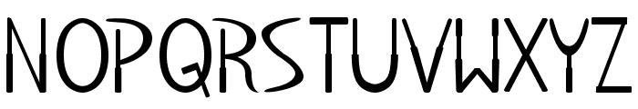 BabyDoll-Regular Font UPPERCASE