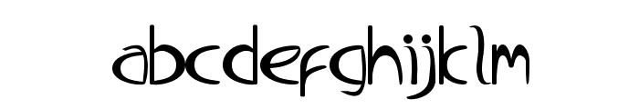 BabyDoll-Regular Font LOWERCASE