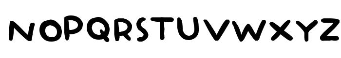 BabyDoll Font UPPERCASE