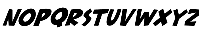Babydoo Italic Font UPPERCASE