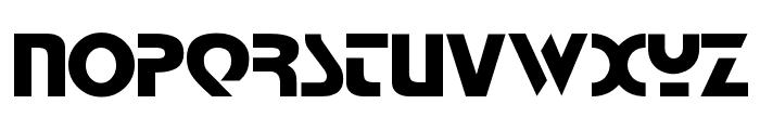 Babylon Industrial Font UPPERCASE