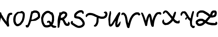 Back in the newer days Font UPPERCASE