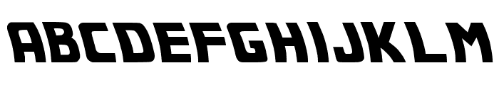 Back to the future 2002 Font UPPERCASE