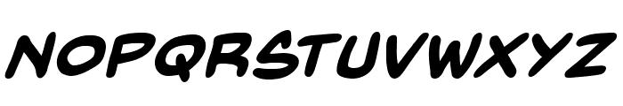 BackIssuesBB-BoldItalic Font LOWERCASE