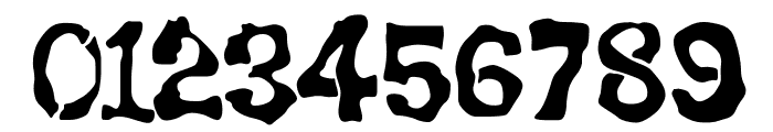 BackSplatter Drippy Font OTHER CHARS