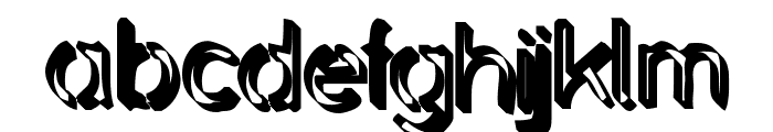 Backcab Extra Crispy Font LOWERCASE