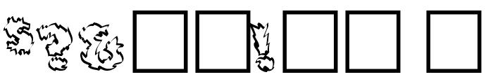 Backfire Medium Font OTHER CHARS
