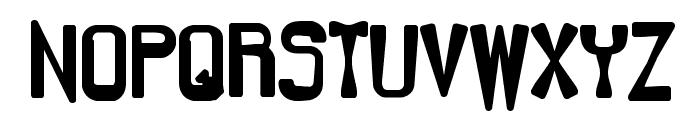 Backlash BRK Font UPPERCASE