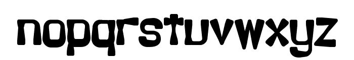 Backlash BRK Font LOWERCASE