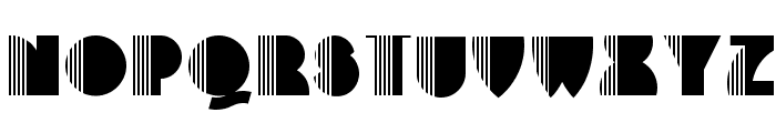 Backstage Pass NF Font LOWERCASE