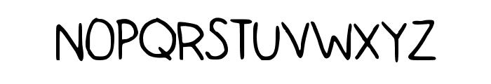 BacktoCool Font UPPERCASE