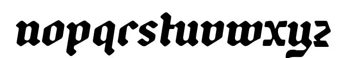 Backyard Black PERSONAL Italic Font LOWERCASE