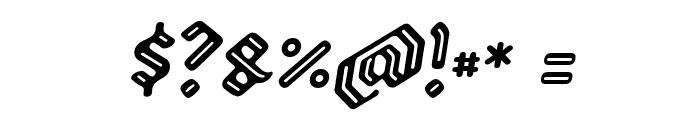 Backyard PERSONAL Italic Font OTHER CHARS