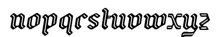 Backyard PERSONAL Italic Font LOWERCASE
