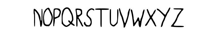 BaconFarm Font UPPERCASE