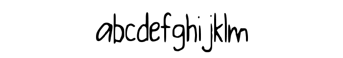 BaconFarm Font LOWERCASE