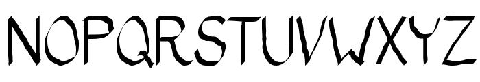 Bad Calligraphic 2 Font UPPERCASE