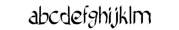 Bad Calligraphic 2 Font LOWERCASE