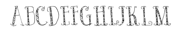 Bad King Font UPPERCASE